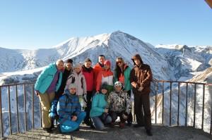 Ребята из Самары едут в Бакуриани - 4.01.2014 год.