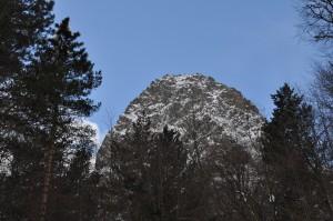 Цей - гора Монах - февраль 2015 год