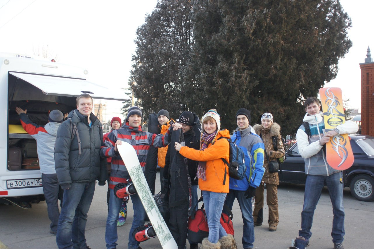Туристы из Москвы - февраль 2013 года